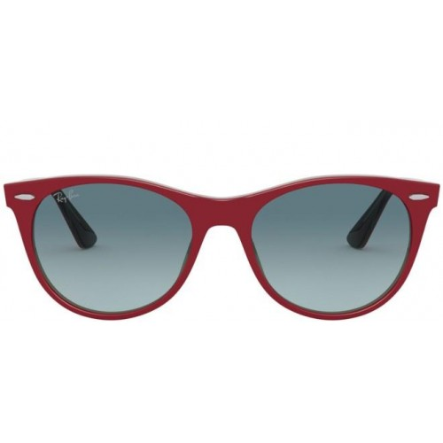 Ray Ban RB 2185 12963M RED ON TRASPARENT GREY