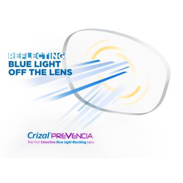 ESSILOR Orma 1.5 Crizal Prevencia z filtrem światła niebieskiego