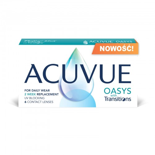 Acuvue Oasys with Transitions 6 szt. – NOWOŚĆ