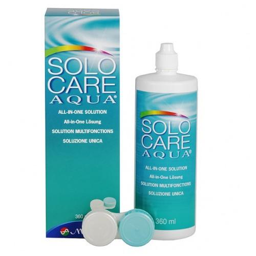 Płyn do soczewek kontaktowych Solo Care 360 ml.